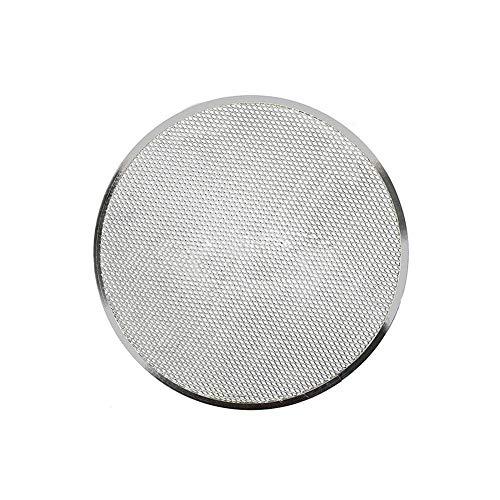 Bandeja Para Pizza,Plato De Pizza Pizza de pantalla plana de aleación de aluminio de malla de pizza pantalla Horneado bandeja for hornear neto de utensilios de cocina herramienta de la cocina de cocci