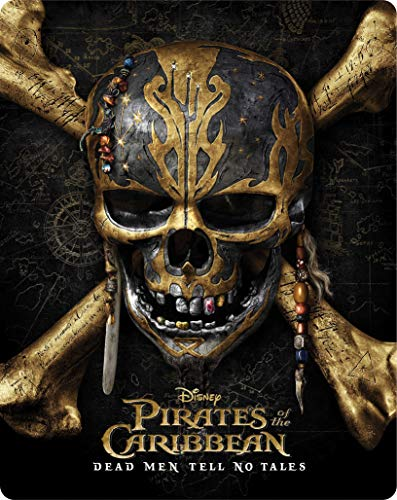 Piratas do Caribe 5 - A Vingança De Salazar - Blu-Ray 3D + Blu-Ray - Steelbook