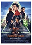 Spider Man Far from Home Movie Poster Limited Wall Art Print Photo Zendaya, Tom Holland Jake Gyllenhaal Sizes 8x10 11x17 16x20 22x28 24x36 27x40#3 (24x36 inches)