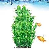 Planta de Agua Artificial, decoración Suave de la Planta de Agua del Tanque de Peces, plástico Seguro para el Acuario doméstico
