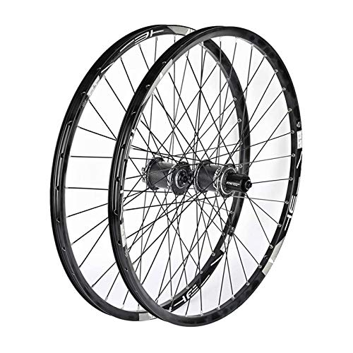 YQQQQ Ruedas de Bicicleta MTB Freno de Disco de Liberación Rápida de Doble Pared/Juego de Ruedas de Ciclismo de Llanta Híbrida 11 Velocidades (Color : 27.5inch)