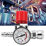 Pression de compresseur d'air - Manomètre de soupape de commande de commutateur de régulateur de pression de compresseur d'air avec connecteur mâle/femelle