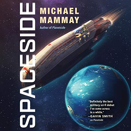 Spaceside audiobook cover art