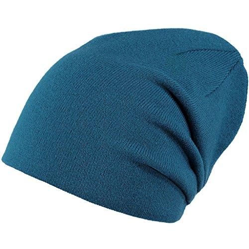 Barts Barts Unisex Eclipse Baskenmütze, Blau (Storm Blue), One Size (Herstellergröße: Unica)