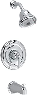 American Standard T420502.002 Portsmouth Bath and Shower Trim Kit with Round Escutcheon, Polished Chrome