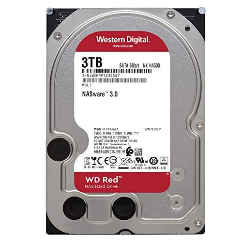 『Western Digital HDD 3TB WD Red NAS RAID 3.5インチ 内蔵HDD WD30EFRX 【国内正規代理店品】』の3枚目の画像