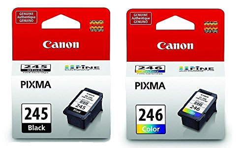Price comparison product image 2 x Canon PG Black 245 CL 246 Color Ink Cartridges Special for MG2520 MG2920 MG2420