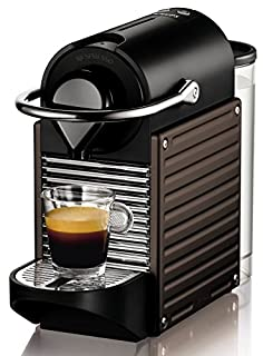 Nespresso Pixie Dark Brown XN3008 Krups - Cafetera monodosis 19 bares, apagado automático, Color marrón oscuro (B006TYY76Y) | Amazon price tracker / tracking, Amazon price history charts, Amazon price watches, Amazon price drop alerts