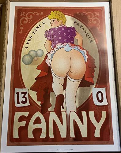 AFFICHE / Fanny - Pétanque - Colomb - 50x70cm