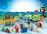 PLAYMOBIL 1.2.3 Adventskalender 2018 - Waldweihnacht der Tiere - 9391
