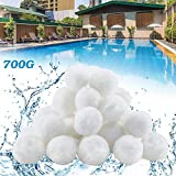 YIKANWEN Polysphere Filter Balls Filter Sand Filter System 700 g Replace 25 kg Filter Sand Accessories Replacement Pool...