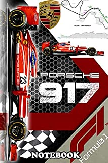 Notebook: Formula 1 , Journal for Writing, College Ruled Size 6