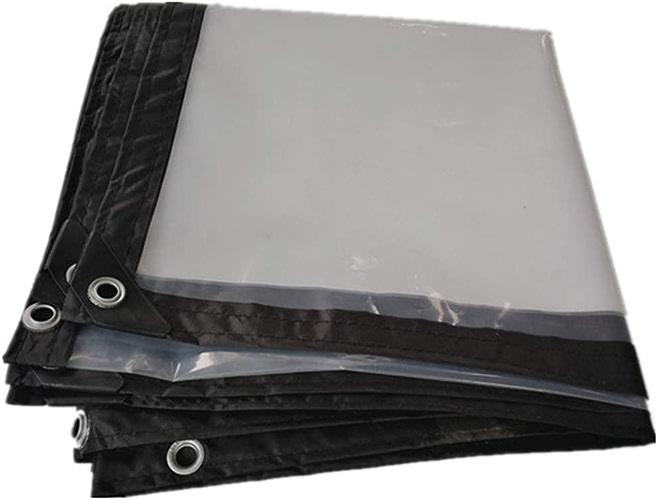 XIAOPING Bache Transparente épaissie bache de Prougeection Anti-poussière de Toile Solaire épaisse de Tissu imperméable (Taille   3x6m)