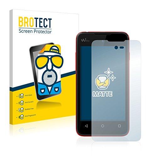 BROTECT 2X Entspiegelungs-Schutzfolie kompatibel mit Wiko Sunny Bildschirmschutz-Folie Matt, Anti-Reflex, Anti-Fingerprint