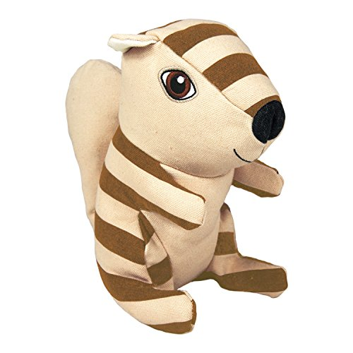 KONG Ballistic Woodland Squirrel Dog Toy, Medium/Large