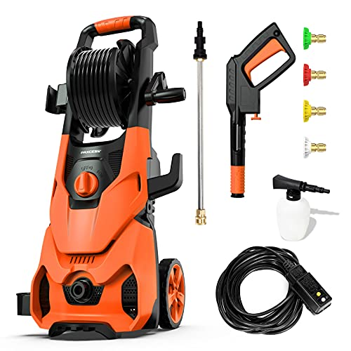 Paxcess V3.2 3500PSI Max 1.85 GPM Electric Pressure Power Washe with...