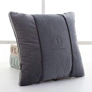 Pillow Almohadas de Coche, edredones, Cojines de Doble Uso, sofás de Oficina, pausas para el Almuerzo, edredones Frescos de Verano, edredones multifunción de Aire Acondicionado para Coche