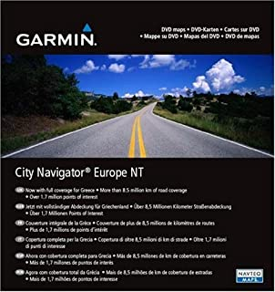Garmin City Navigator Europe NT for Detailed Maps of Eastern and Western Europe (DVD)