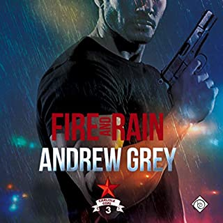 Fire and Rain audiobook cover art