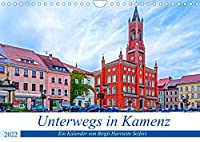 Unterwegs in Kamenz (Wandkalender 2022 DIN A4 quer): Ein fotografischer Stadtspaziergang durch Kamenz. (Monatskalender, 14 Seiten )