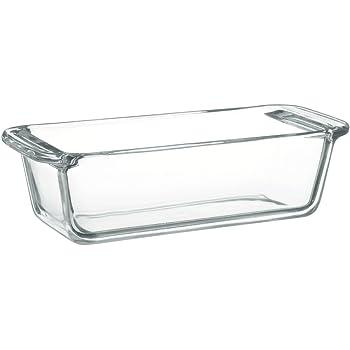 iwaki(イワキ) 耐熱ガラス ケーキ型 パウンドケーキ型 角型 18×8cm用 KBC211