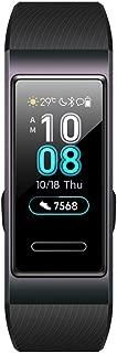 HUAWEI Band 3 スマートウォッチ パールブラック 0.95インチ カラータッチスクリーン 5気圧耐水 iOS/Android対応 【日本正規代理店品】 BAND 3/PEARL BK/A
