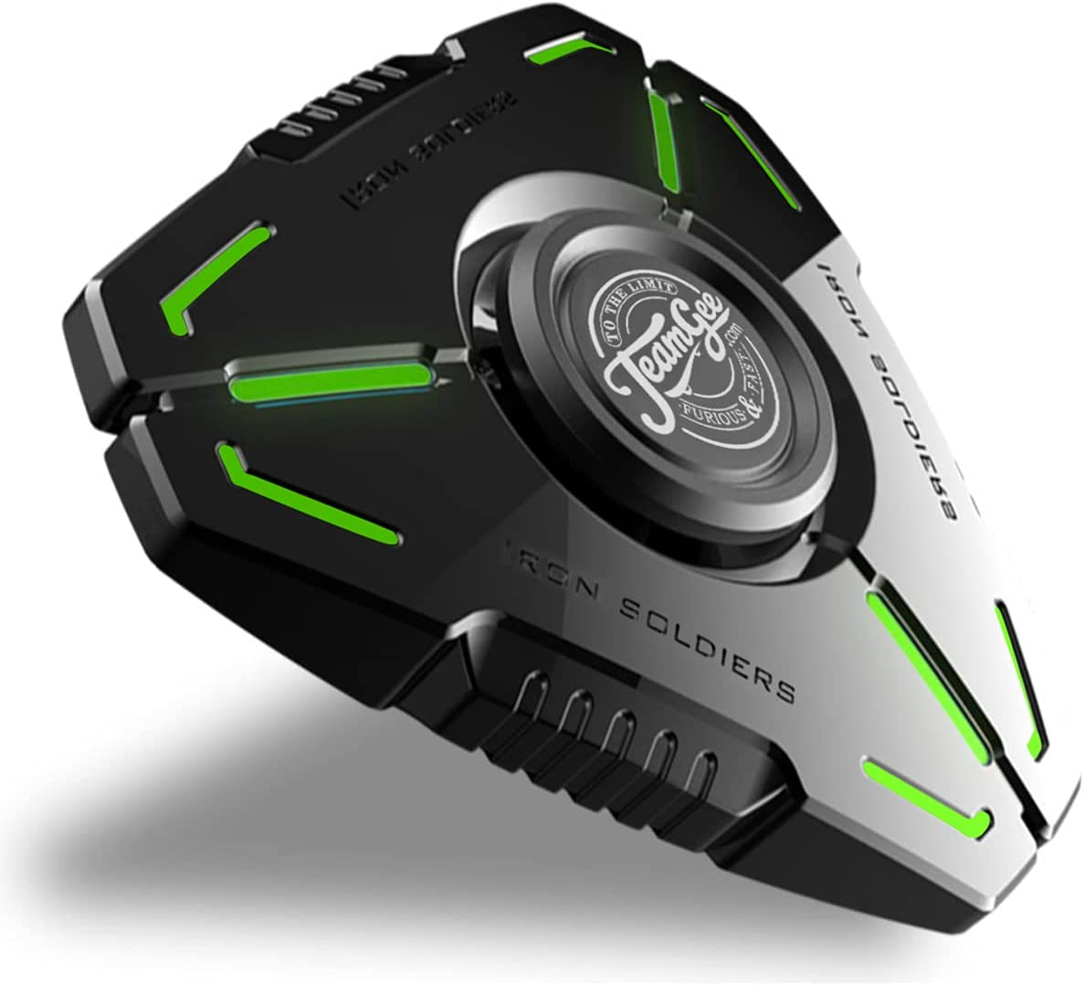 Time sale Teamgee Fidget Baltimore Mall Spinners Metal B Luminous Silent