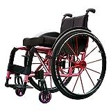 Wheelchair Fauteuils Roulants De Sport Poids Pliant Ergonomique Confortable...