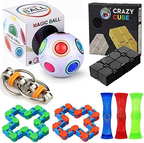 Bingole Fidget Toy Pack 8 Pcs Sensory Fidget Toys Set for Teens Kids Adults with ADHD Autism product image