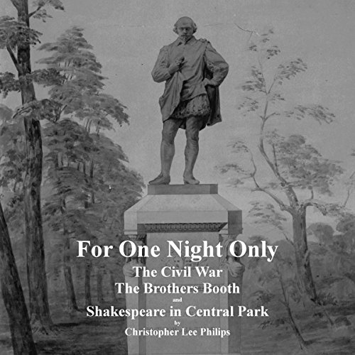 For One Night Only audiobook cover art