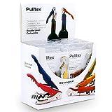 Pulltex - Set Display Cavatappi Pulltap's Basic - n° 12 pezzi - colori assortiti - Realizzati in Acciaio e Teflon - Garanzia Pulltex 2 anni -