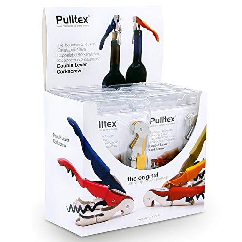 Pulltex – Tire-Bouchon Pullparrot Basic – 4 PCs Couleurs assorties