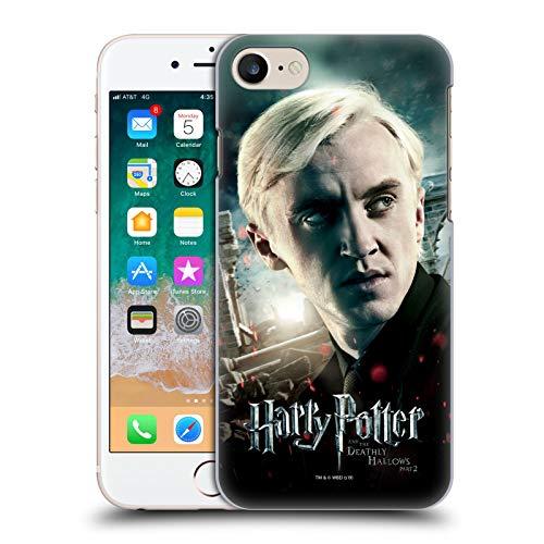 Head Case Designs Ufficiale Harry Potter Draco Malfoy Deathly Hallows VIII Cover Dura per Parte Posteriore Compatibile con Apple iPhone 7 / iPhone 8 / iPhone SE 2020