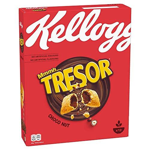 Kellogg's Tresor Choco Nougat Cerealien | Einzelpackung | 375g
