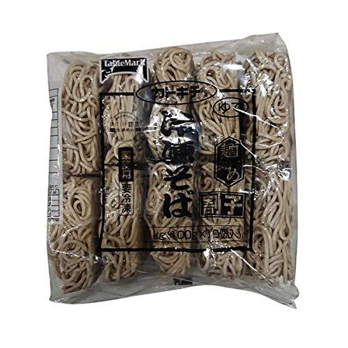 【冷凍】テーブルマーク カトキチ 麺始め冷凍そば 100g×10個入 業務用 冷凍麺 そば 10人前