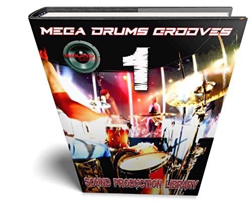 Mega Drums Grooves 1 - Production Samples Library - Kits/Loops/Performances 8,5 GB auf 2DVDs oder Download