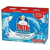 Pato - Discos Activos WC Recambio Marine, 2 recambios con 6 discos