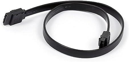 Monoprice 18inch SATA 6Gbps Cable w/Locking Latch - Black