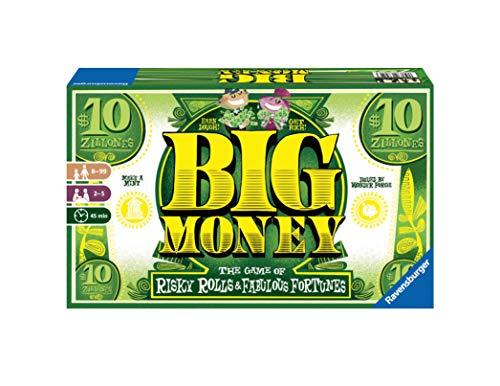 Ravensburger 26825 Big Money, Versión en Español, Juego de mesa, 2-5 Jugadores, Edad recomendada 8+
