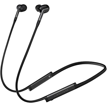Libratone Track+ Wireless Active Noise Cancelling Headphones, Bluetooth 4.2 w/Mic, IPX4 Waterproof, Apt-X and AAC codec, Premium Low-Latency Audio and Video Earbuds, 8H Playtime (Stormy Black)