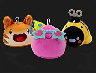 Slime Rancher. Collectors Bundle Tiger Tabby Drone Slime & Pink Party Slime 3 Pack Set