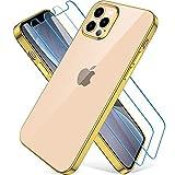 Wiselead Hülle für iPhone 12 Pro Max - 6.7 Zoll Golden