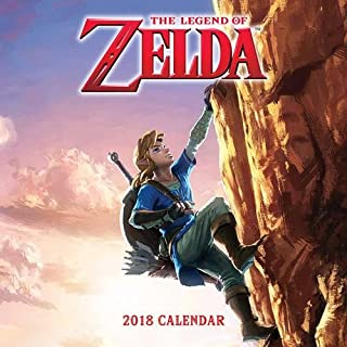 The Legend of Zelda™ 2018 Wall Calendar