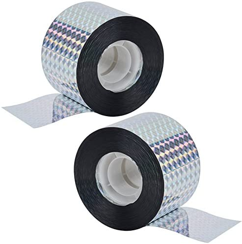 NABLUE Bird Repellent Scare Tape Bird Scare Flash Tape to Scare Birds Away 525 Feet Total Double product image