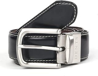 Dents Men's Reversible Leather Belt