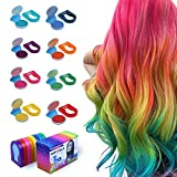 Hair Chalk Powder for Girls, Washable Non-stick Pastel Hair Dye Color Set for Teens Kids Gifts for Birthday Cosplay Party Makeup DIY Salon Styling, Suitable for Child Aged 4 5 6 7 8 9 10+