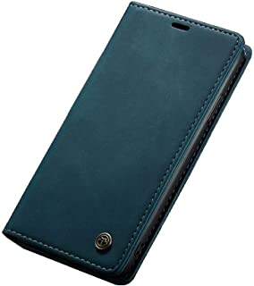 Flip Leather Case For iPhone 11 pro MAX - Turquoise