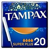 Tampax Super Plus Tampons con applicatore, 20 pezzi