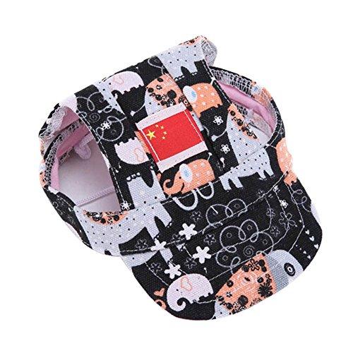 Cutogain Hunde-Baseball-Mütze, Sonnenhut, für den Sommer, elefant, M