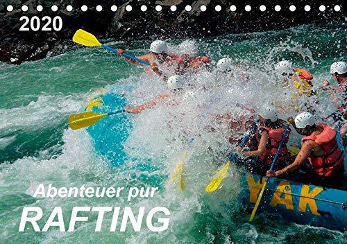 Abenteuer pur - Rafting (Tischkalender 2020 DIN A5 quer): Rafting - Abenteuersport mit dem gewissen Kick, Adrenalin pur. Action mit größtmöglichem Spaß. (Monatskalender, 14 Seiten ) (CALVENDO Sport)